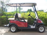 Club Four Seater Golf Cart , Battery Powered Golf Cart With Aluminum Alloy Beam