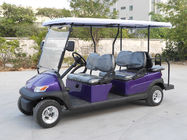 Park 6 Seater Golf Cart Electric Sightseeing Car With 3.7kw KDS Motor