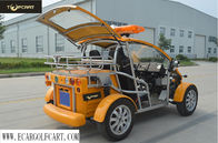 Battery Powered Golf Cart 2 Seater , Electric Police Vehicles Easy Handle