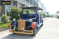 Classical 12 Seater Battery Operated Golf Buggy Plastic Bodywork With CE
