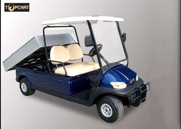 Blue Color Street Legal Golf Utility Vehicles With Curtis 400 A Controller