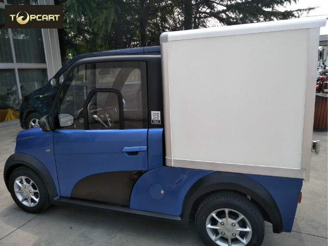 Cargo Carrier light duty electric van 2 Passenger with Reverse Sensor High Speed
