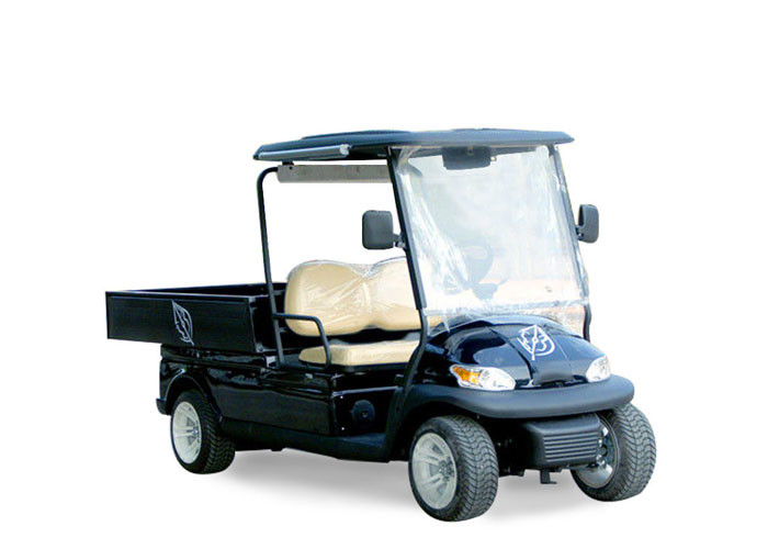 High Security Performance Transport Golf Cart , Electric Food Transport Carts For Club