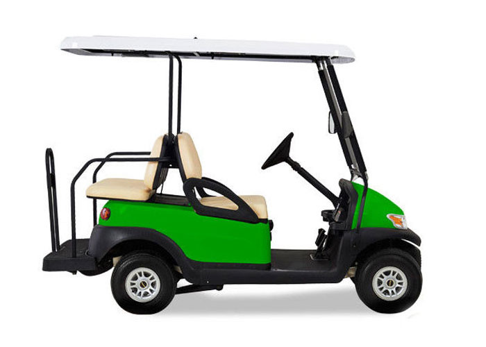 Dark Green Multi Passenger Golf Carts 25-40 KM/H Maximum Speed For Transportation
